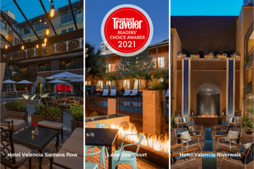 Valencia Hotel Group Luxury and Court properties earn 2021 Conde Naste Award